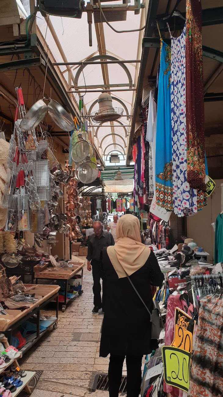 Mercado de Nazaré - Israel © Viaje Comigo