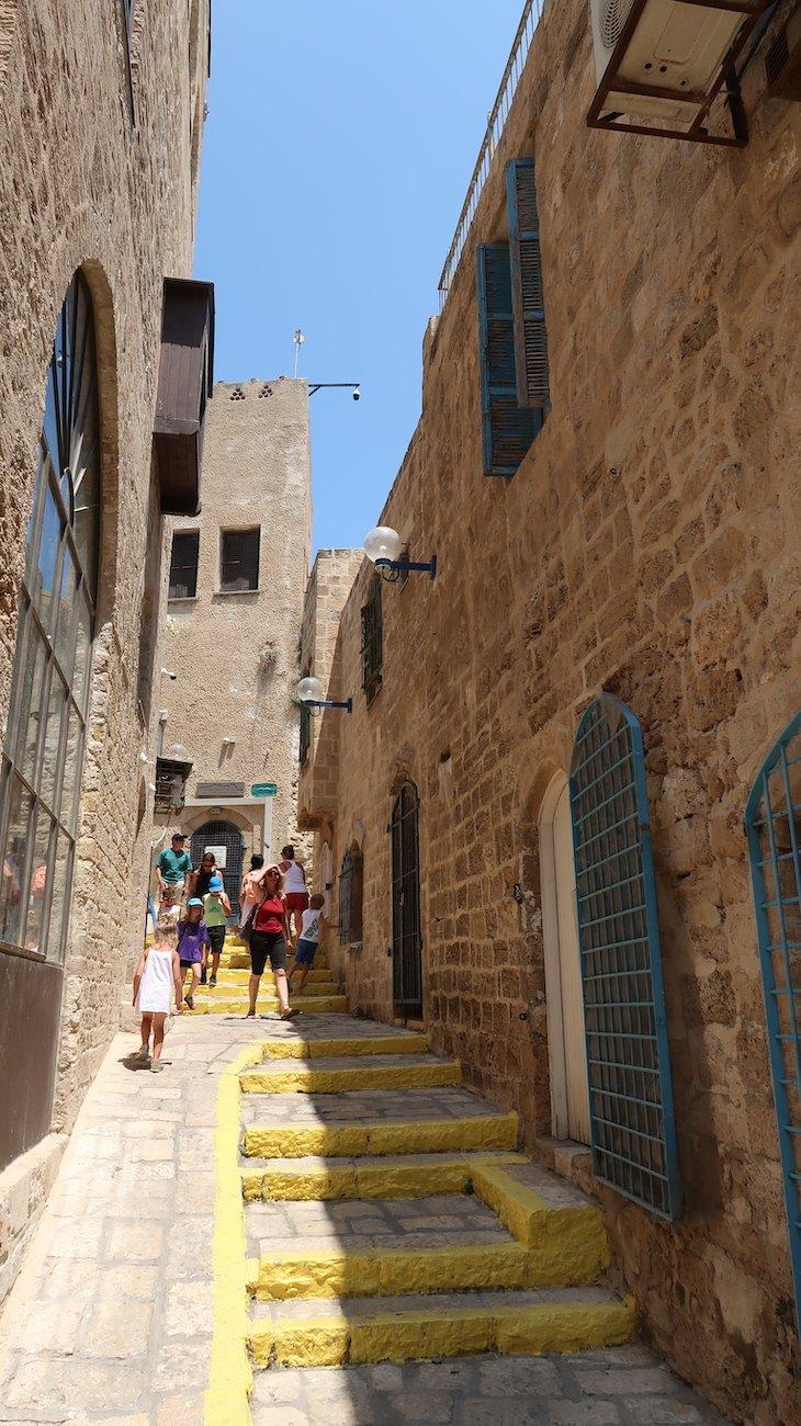 Ruas de Jaffa - Israel © Viaje Comigo