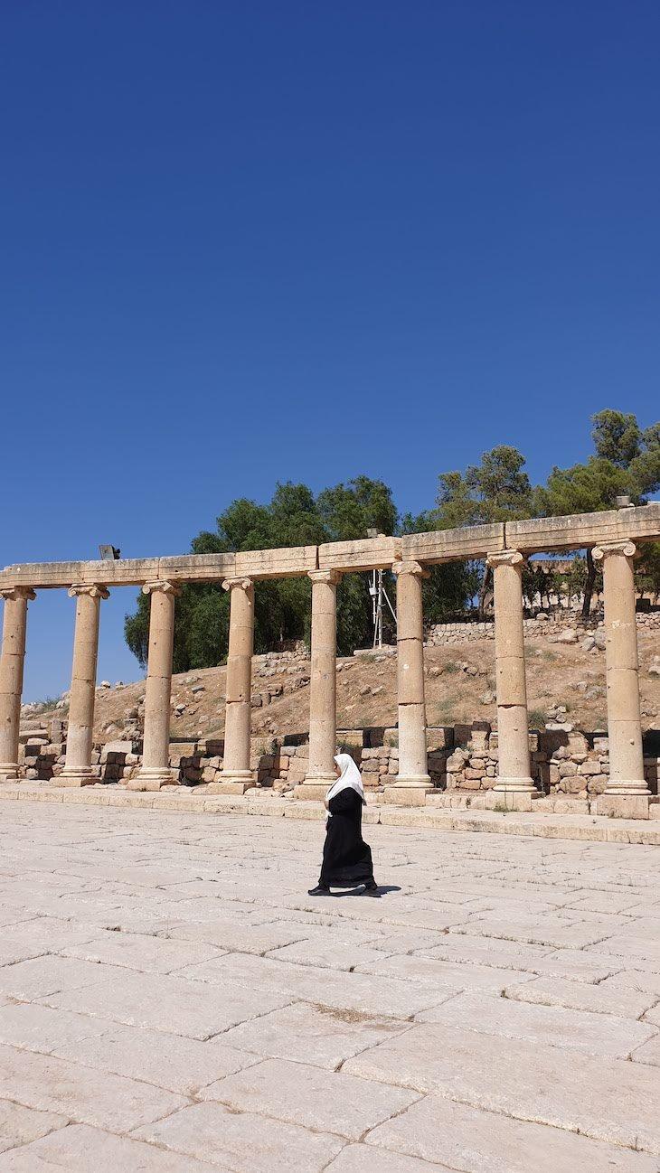 Jerash - Jordânia © Viaje Comigo
