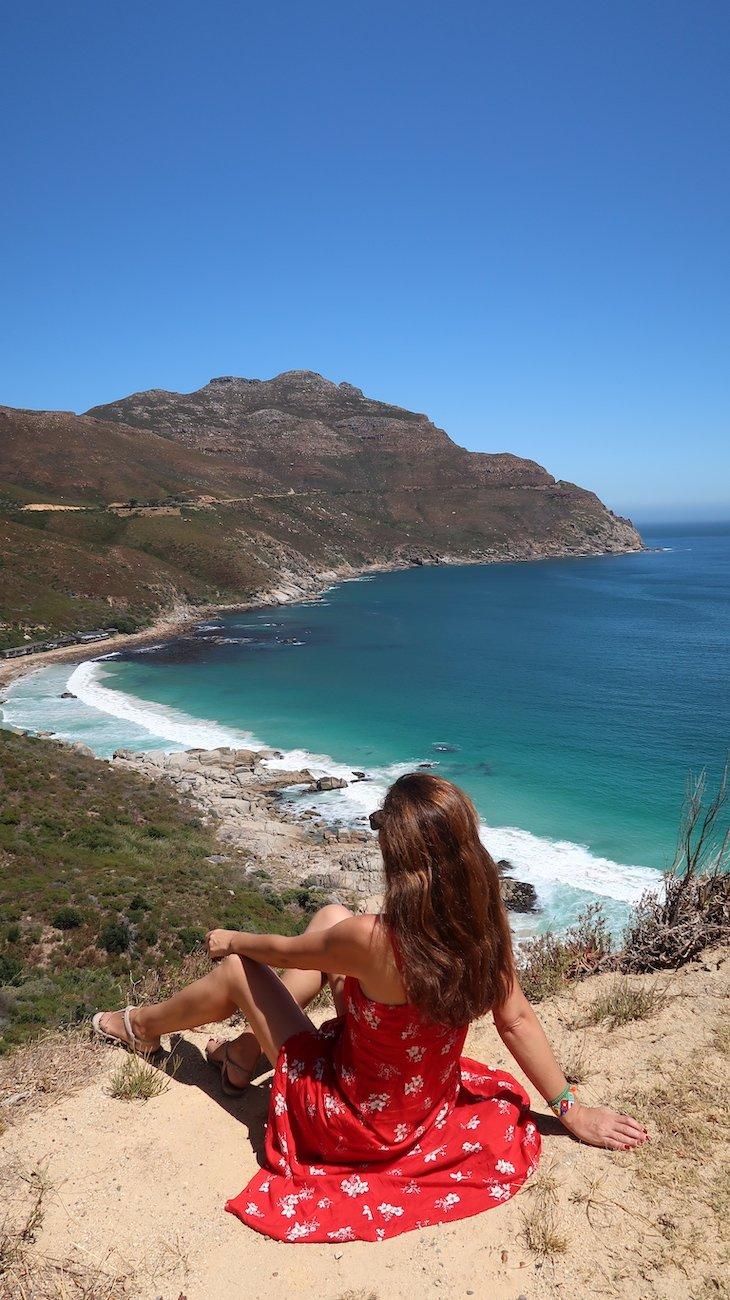 A ver o Tintswalo Atlantic lá em baixo - África do Sul © Viaje Comigo