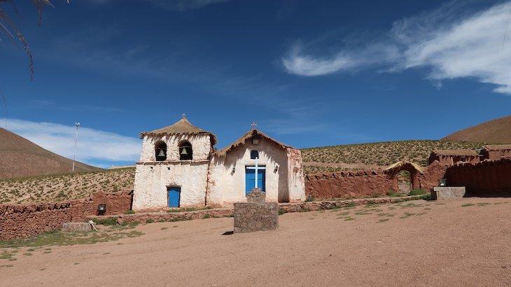Pueblo Machuca - Tour do Geyser el Tatio - Atacama - Chile © Viaje Comigo