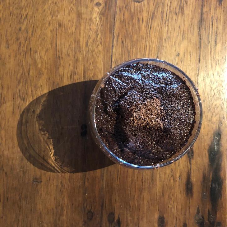 Receita Mousse de Chocolate Vegan Chef Moisés do Restaurante Zazah©DR