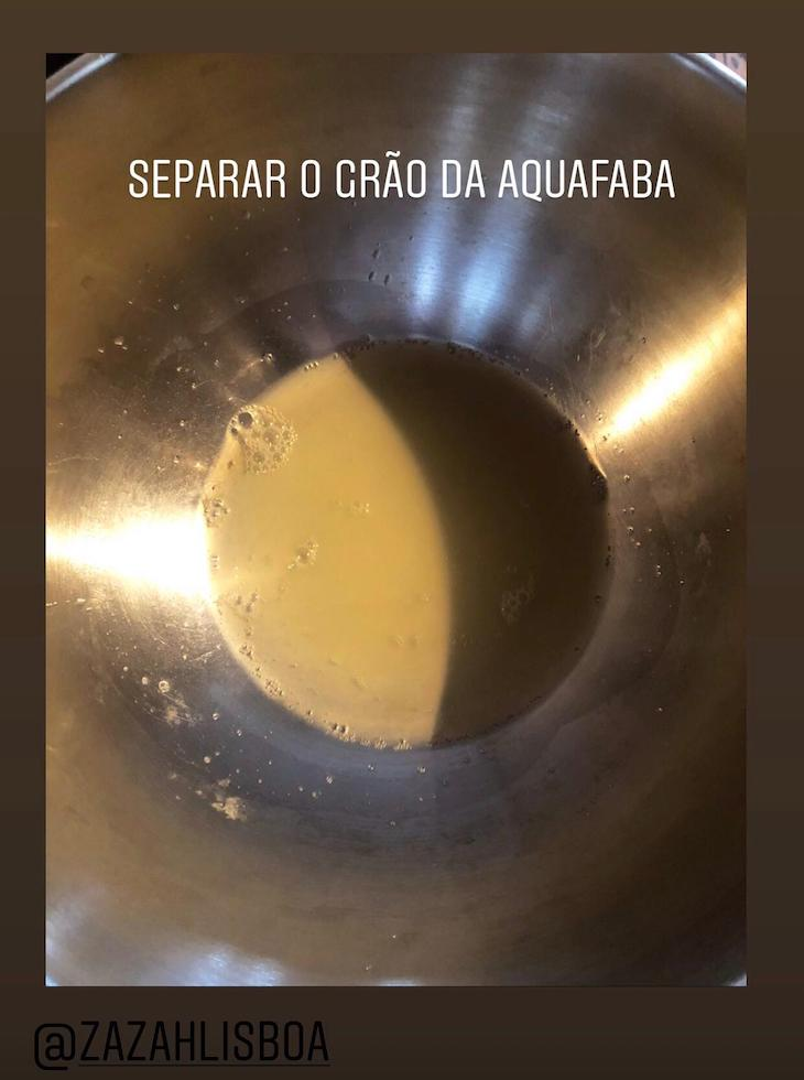 Receita Mousse de Chocolate Vegan, pelo Chef Moisés do Restaurante Zazah©DR