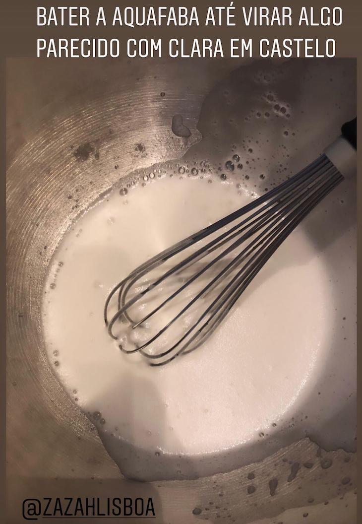 Passo 2 - Receita Mousse de Chocolate Vegan, pelo Chef Moisés do Restaurante Zazah©DR
