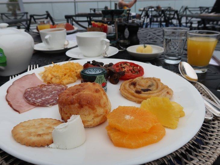 Pequeno-almoço do 12 Apostles Hotel & Spa - África do Sul © Viaje Comigo