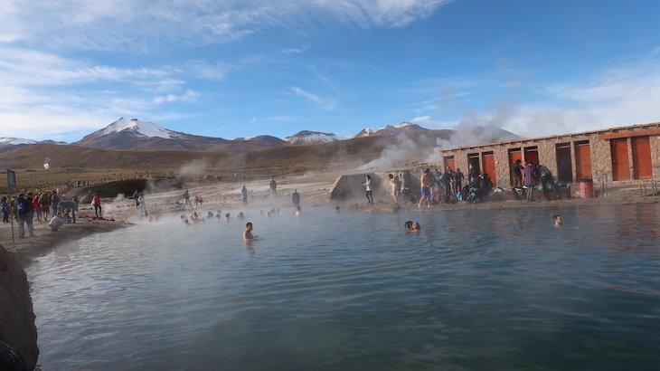 Águas termais no Geyser el Tatio - Atacama - Chile © Viaje Comigo