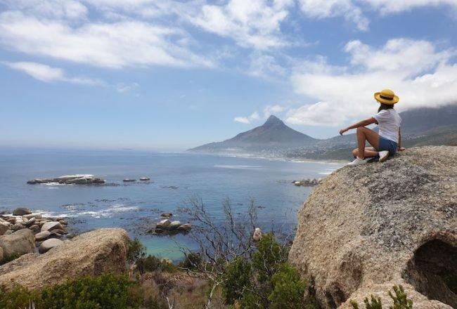 Vista do 12 Apostles Hotel & Spa - África do Sul © Viaje Comigo