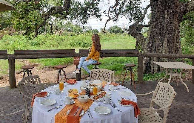 Pequeno-almoço no Tintswalo Safari Lodge - África do Sul © Viaje Comigo