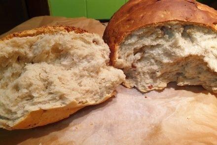 Receita de pão com frutos secos © Viaje Comigo