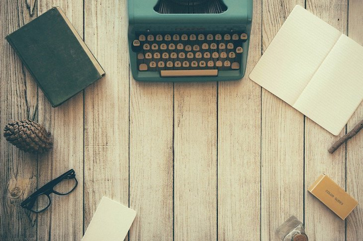 Máquina de escrever - Foto: Free-Photos © Pixabay