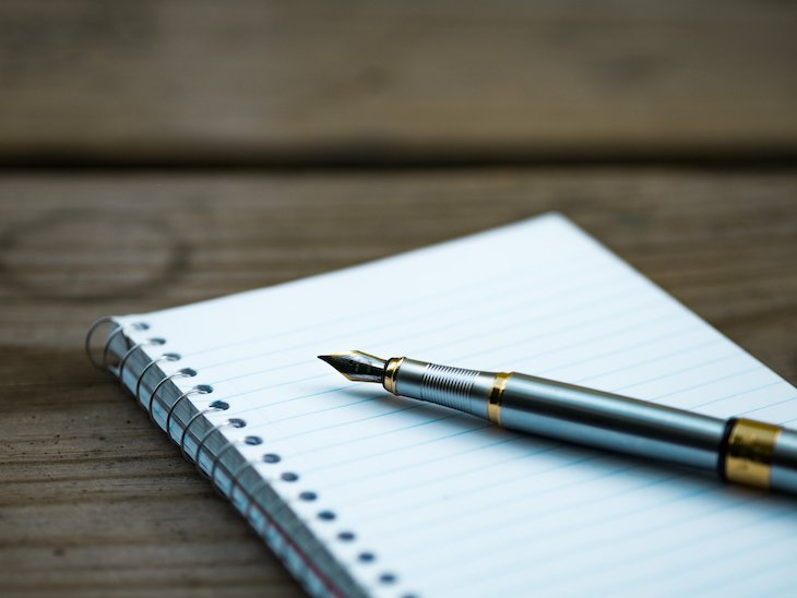 Escrever - Foto: Pexels Canva - Fountain Pen and Notebook