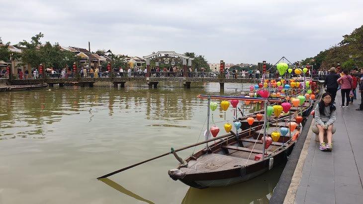 Rio de Hoi An - Vietname © Viaje Comigo