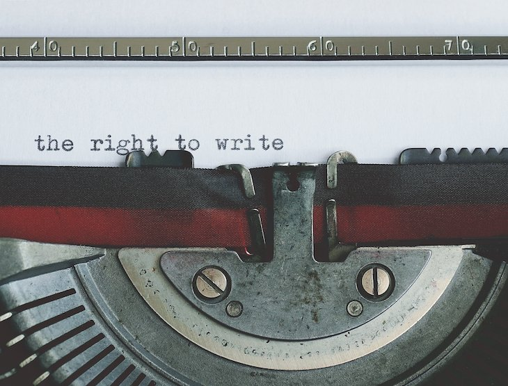 - O direito de escrever - The right to write - ©Suzy Hazelwood de Pexels