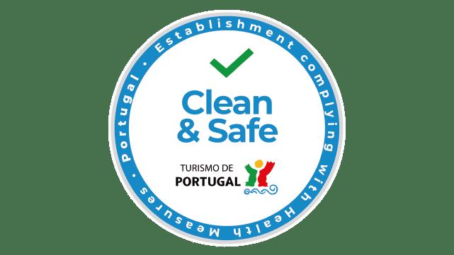Clean & Safe - Selo do Turismo de Portugal