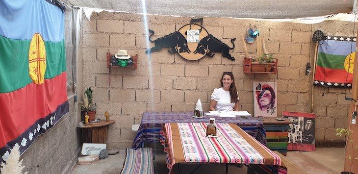 Susana Ribeiro na Casa Carmenere- San Pedro Atacama - Chile © Viaje Comigo