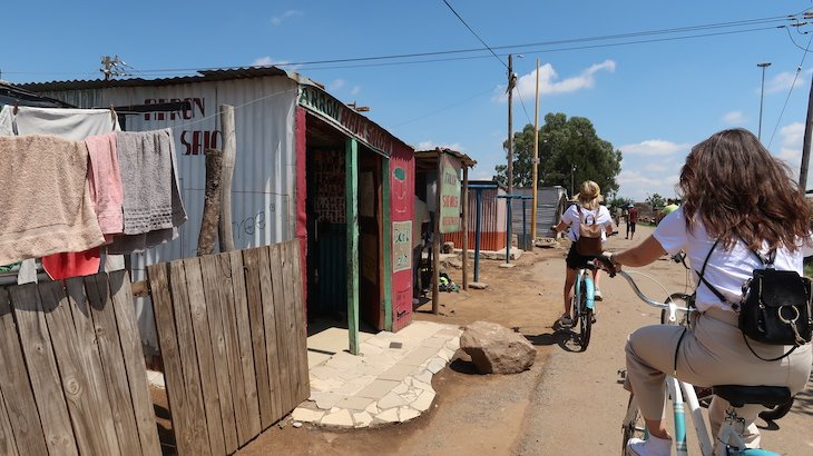 Bike Tour no Soweto - Joanesburgo - África do Sul © Viaje Comigo