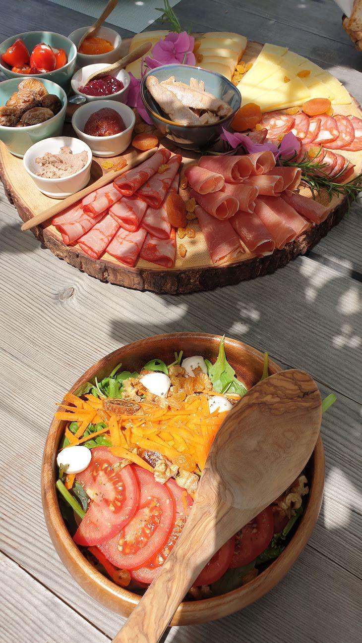 Almoço na Quinta da Côrte - Valença do Douro - Portugal © Viaje Comigo