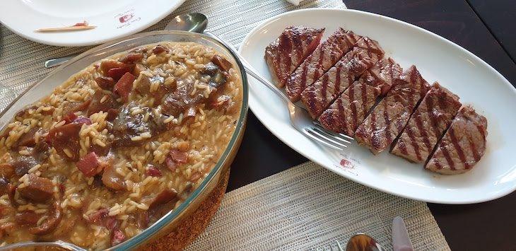 Jantar na Casa Fontes - Pedras Salgadas - Vila Pouca de Aguiar - Portugal © Viaje Comigo
