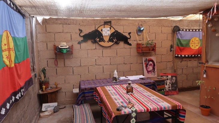 Pátio da Casa Carmenere- San Pedro Atacama - Chile © Viaje Comigo