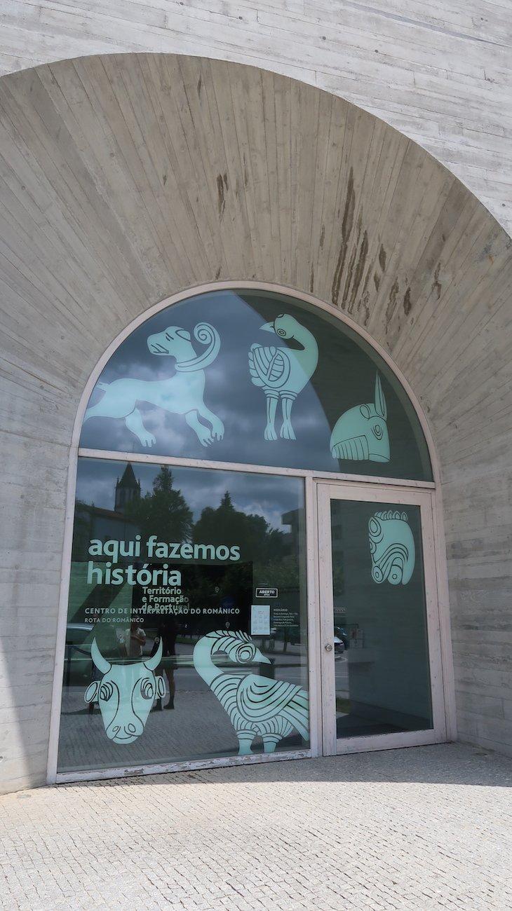 Entrada do Centro de Interpretação da Rota do Românico - Lousada © Viaje Comigo