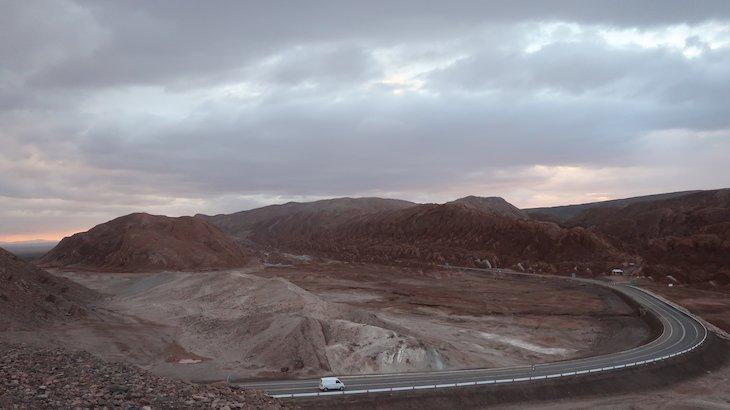 Estrada para San Pedro Atacama - Chile © Viaje Comigo