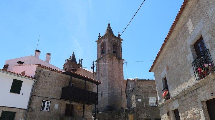 Torre da Igreja Matriz - Vila de Alpedrinha - Fundão - Portugal © Viaje Comigo