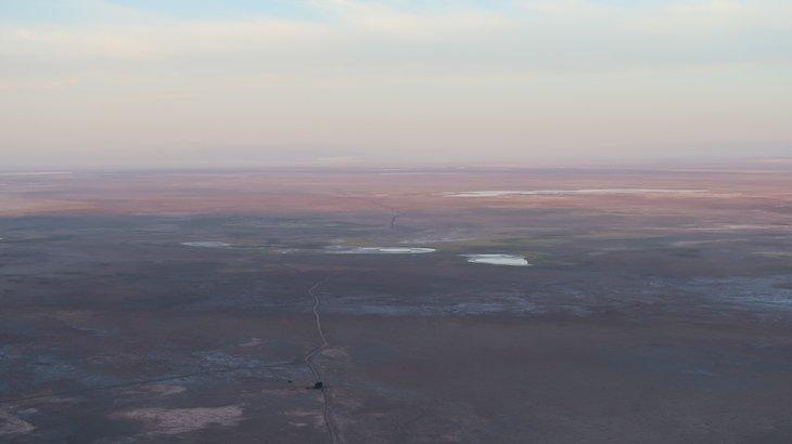 Passeio de Balão de Ar Quente - Deserto do Atacama - Chile © Viaje Comigo