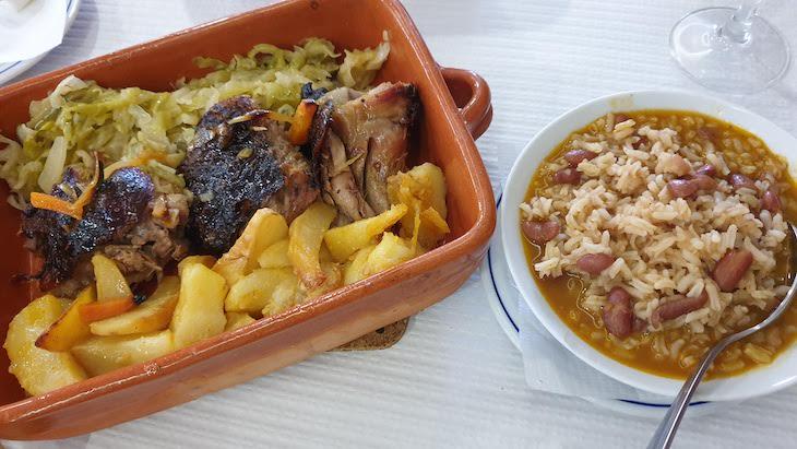 Peru assado do Restaurante Nascente do Corgo - Vila Pouca de Aguiar© Viaje Comigo