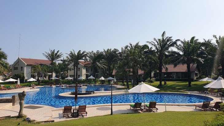 Piscina do Palm Garden Beach Resort & Spa - Hoi An - Vietname © Viaje Comigo