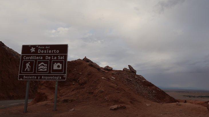 Placa Cordilheira do Sal - Atacama - Chile © Viaje Comigo