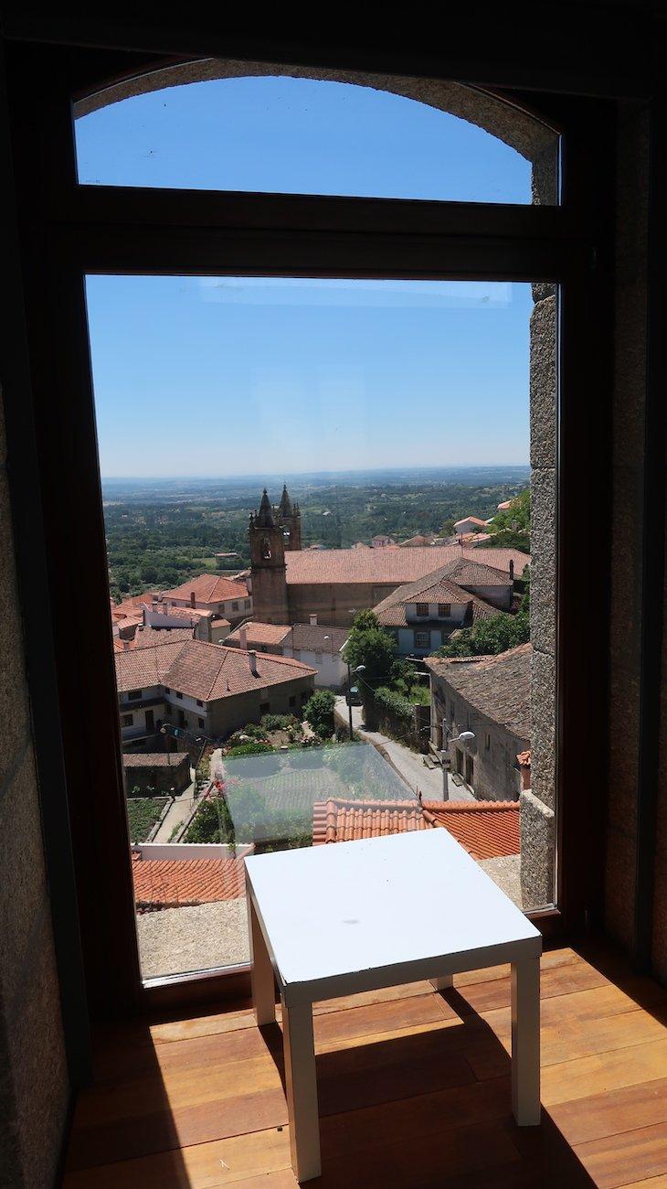 Vista do Palácio do Picadeiro - Vila de Alpedrinha - Fundão - Portugal © Viaje Comigo