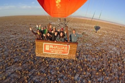 Voo de Balão - Atacama - Chile © Phaway