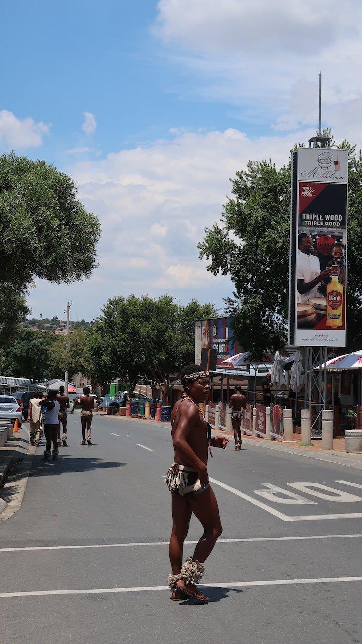 Zulu no Soweto - Joanesburgo - África do Sul © Viaje Comigo