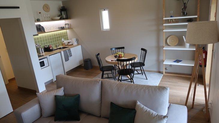A minha suite nas Casas de Alpedrinha - Portugal © Viaje Comigo