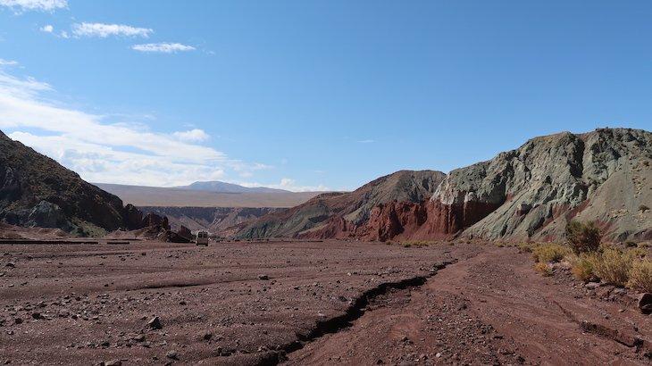 Vale do Arco-Íris - Deserto no Atacama - Chile © Viaje Comigo