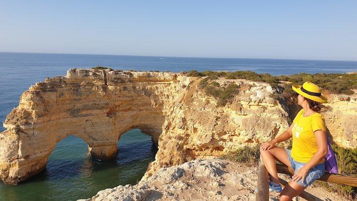 Trilho dos 7 Vales Suspensos Susana Ribeiro - Algarve - Portugal © Viaje Comigo