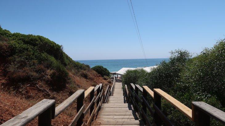 Caminho para a praia - Aqua Pedra dos Bicos Design Beach Hotel - Albufeira - Algarve - Portugal © Viaje Comigo