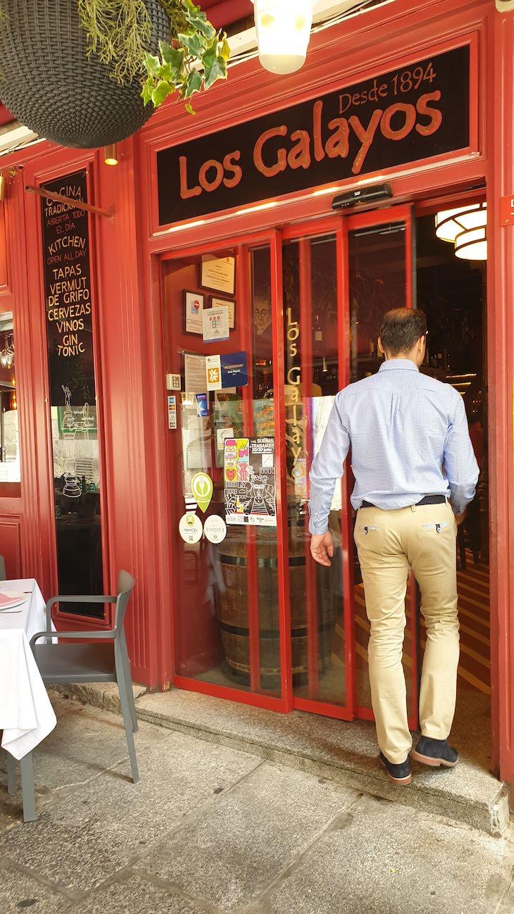 Restaurante Los Galayos - Madrid - Espanha © Viaje Comigo