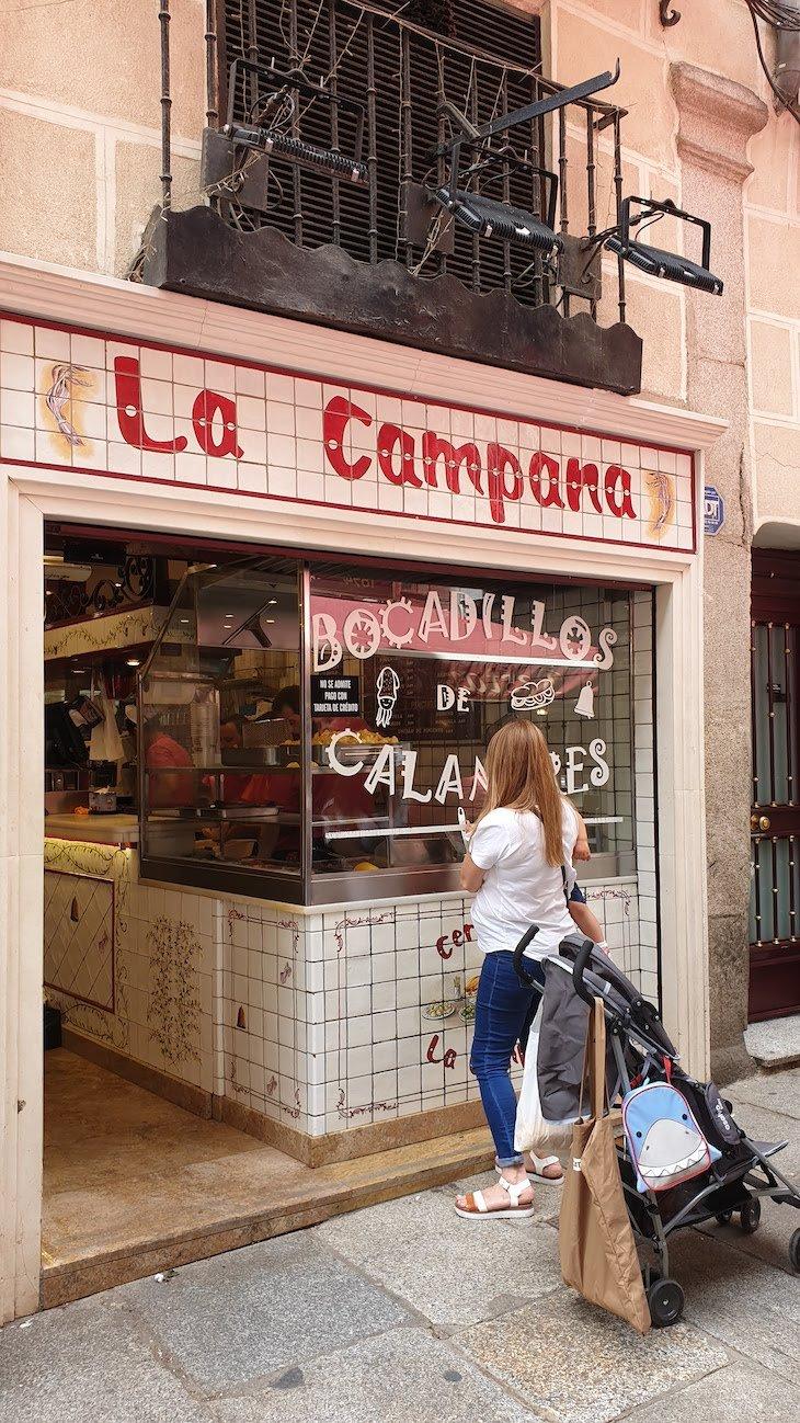 La Campana. Madrid - Espanha © Viaje Comigo