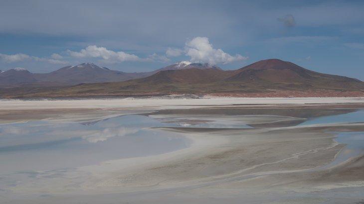 Reflexo em Piedras Rojas - Atacama - Chile © Viaje Comigo