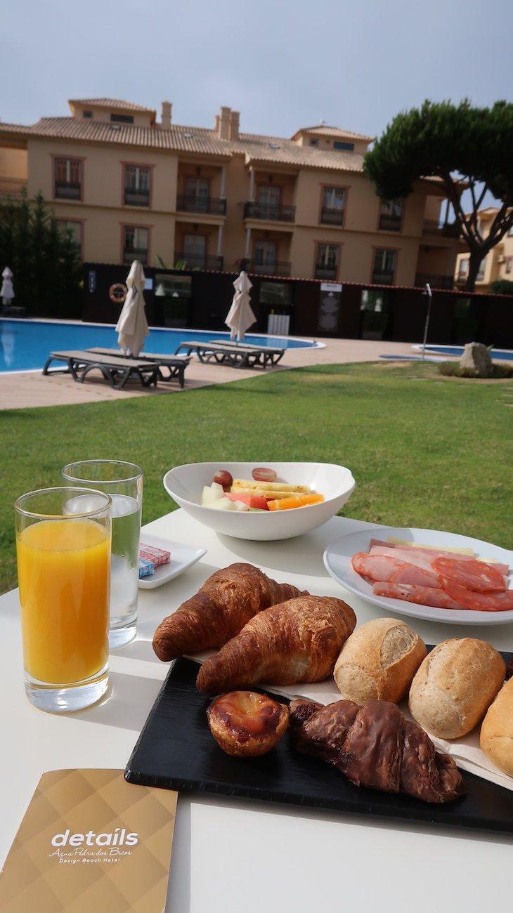Pequeno-almoço do Aqua Pedra dos Bicos Design Beach Hotel - Albufeira - Algarve - Portugal © Viaje Comigo