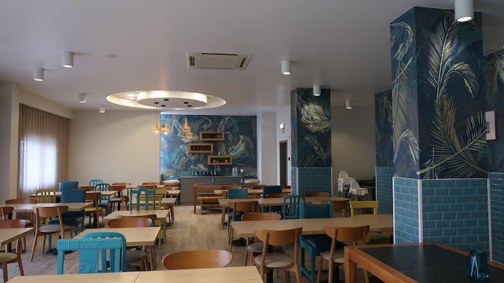 Sala de refeições - Hotel Star Inn Peniche - Portugal © Viaje Comigo