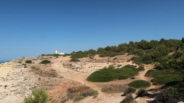 Farol de Alfanzina - Percurso 7 Vales Suspensos - Algarve - Portugal © Viaje Comigo
