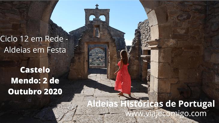 Castelo Mendo - Ciclo 12 em Rede - Aldeias em Festa 2020 © Viaje Comigo