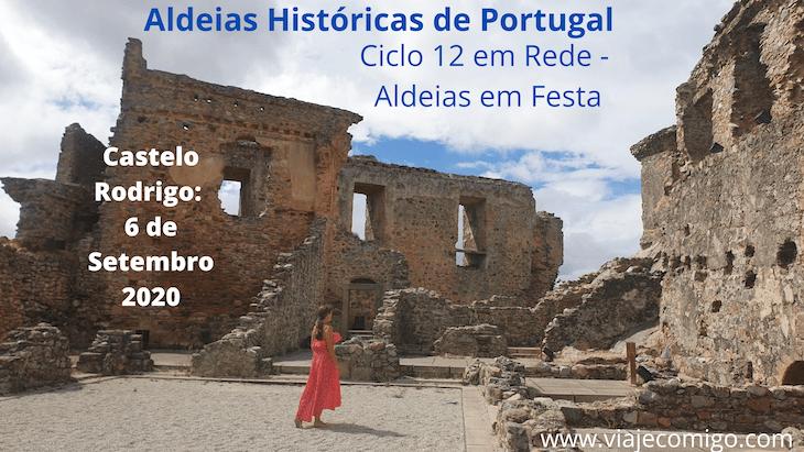 Castelo Rodrigo: Ciclo 12 em Rede - Aldeias em Festa 2020 © Viaje Comigo