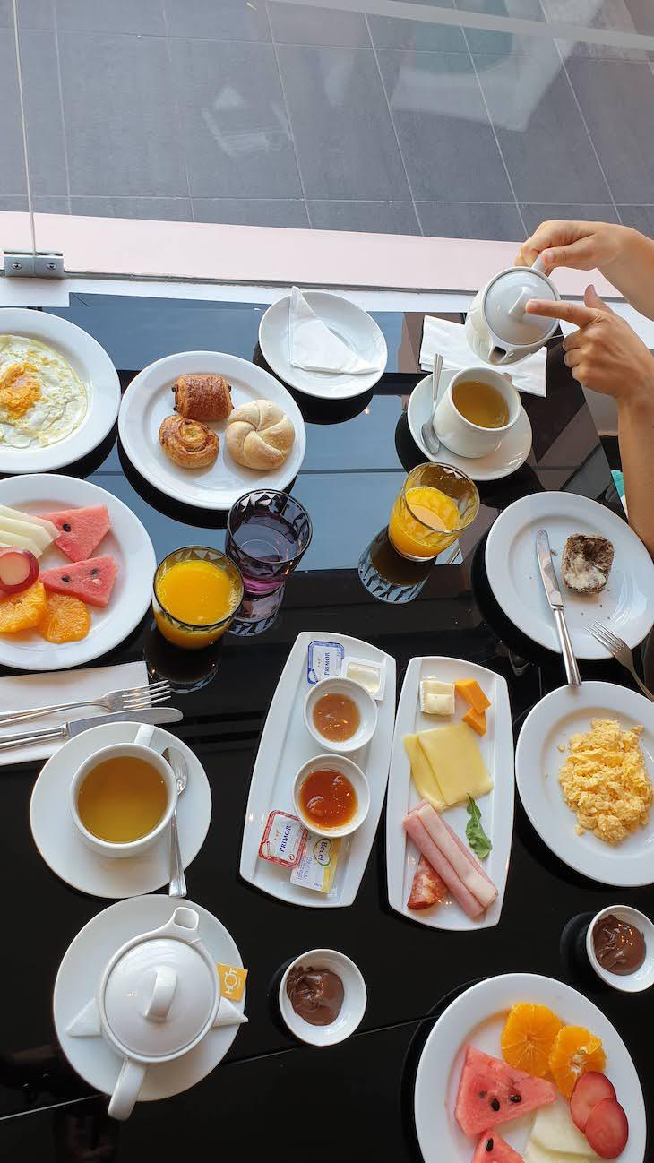 Pequeno-almoço do Vila Galé Collection Praia - Albufeira - Algarve © Viaje Comigo