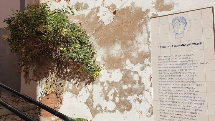 """""""Cabecinha Romana de Milreu"""", Estoi, Faro, Algarve, Portugal © Viaje Comigo"""