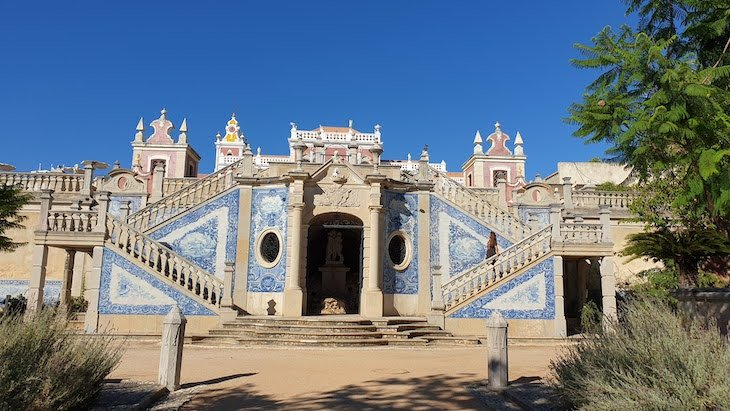 Jardins da Pousada Palácio Estoi, Faro, Algarve © Viaje Comigo