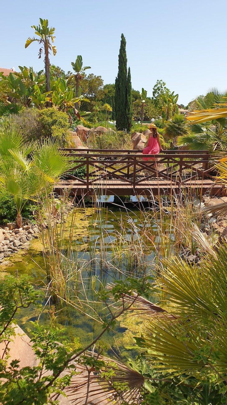 Nos jardins do Hotel Hilton Vilamoura - Algarve - Portugal © Viaje Comigo