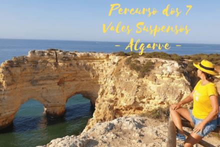 Percurso dos 7 Vales Suspensos - Algarve © Viaje Comigo